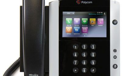 Finding IP address of Polycom VVX phone
